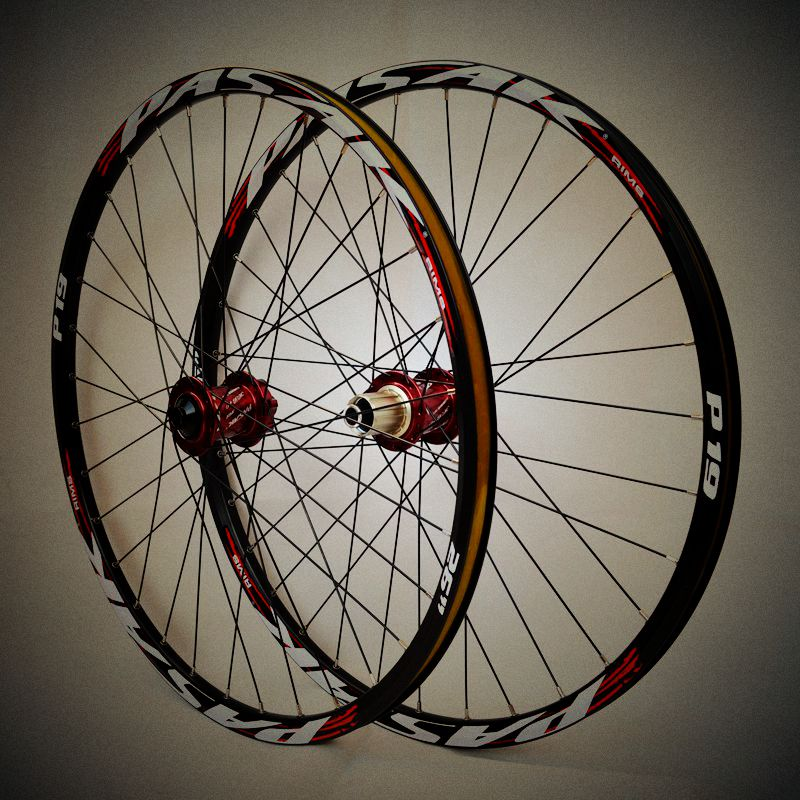 26'' 29 27.5 32Holes Disc Brake Downhill Bike Wheels Centerlock Bicycle Bike 15mm Front Thru-axle Wheel Wheelset mountain bike four perlin disc hubs 32 holes high quality lightweight flexible rotation bicycle hubs bzh002