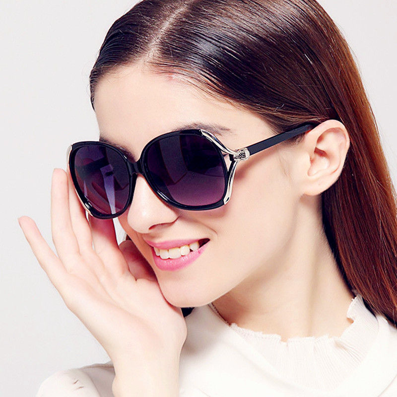 Curtain Brand Women Sunglasses Shield Oversize Designer Big Frame Retro Vintage Driving Uv400 Protection Eyeglasses Female Glass Women's Glasses