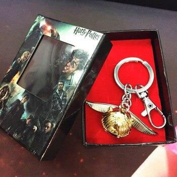 Брелок Золотой снитч Гарри Поттер в подарочной коробке