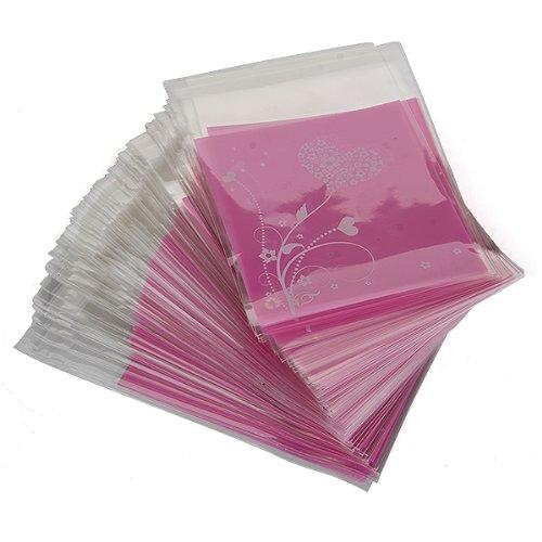 Bolso de embrague UESH-100pcs Bolso HEART púrpura del regalo de - Para fiestas y celebraciones - foto 1