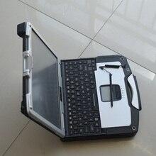 Авто диагностический компьютер toughbook CF-30 cf30 ram 4g вторая рука с батареей для mb star c3 c4 c5 для bmw icom жесткий диск