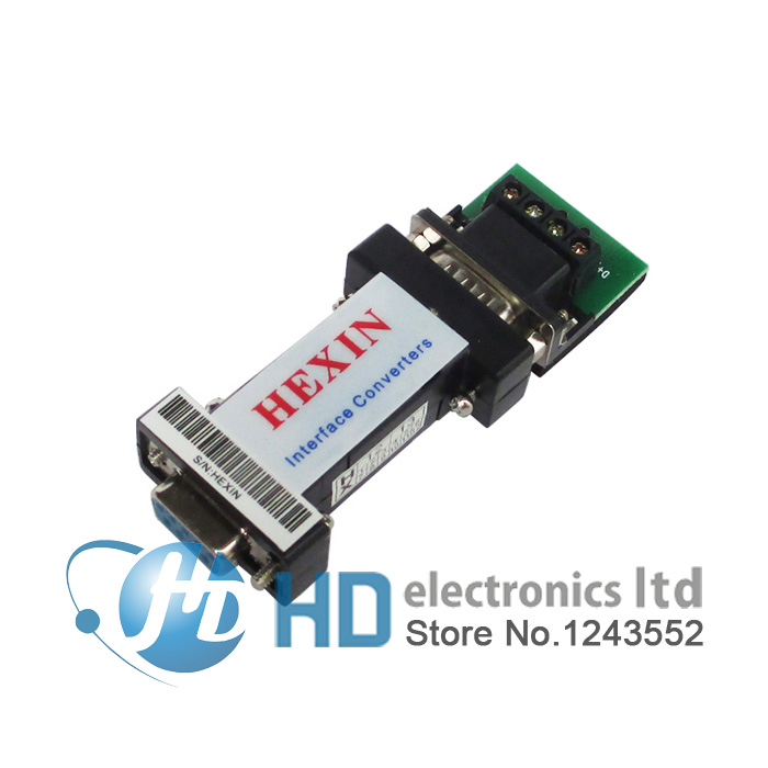 Free Shipping RS232 To RS485 Data Communication Adapter For PTZ CCTV