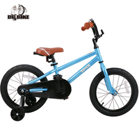 Totem 16 Inch Kids Bike With DIY Stickers For Boys Girls Kids Bicycle With Training Wheel