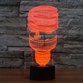 Classic Fashion 3D LED Night Light Energy Saving Table Lamp Bedroom Living Room Lamp Adult Nice Present Gift for Children