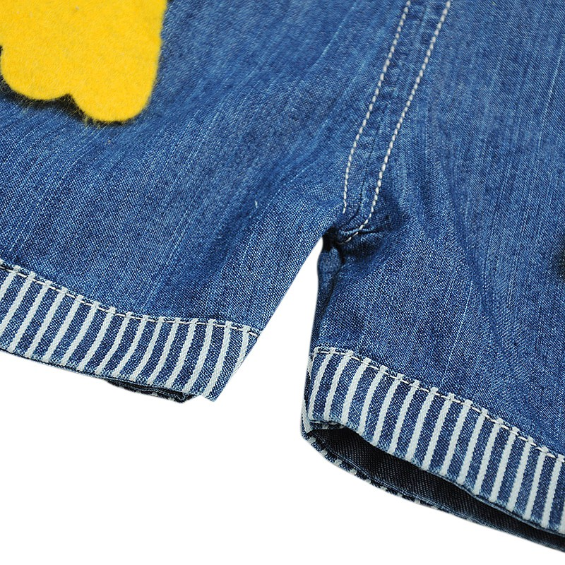 657f67e831a7 0 3T Baby Boys Girls Denim Short Overalls For Summer Infant Toddler Kids  Jeans Rompers Cute Animal Jumpsuit For Child Clothes-in Overalls from  Mother   Kids ...