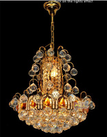 Phube Lighting French Empire Gold Crystal Chandelier Chrome Chandeliers Lighting Modern Chandeliers Free Shipping