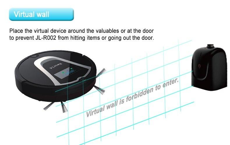 Eworld M884 רובוט שואב אבק ביתי שואב אבק עם הארוך ביותר זמן עבודה/מדוכא/אוטומטי מוחדרים /הנמוך ביותר רעש