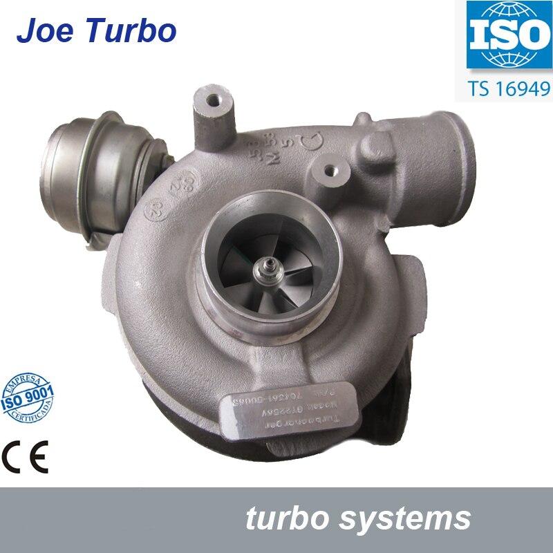 Turbo GT2256V 704631 704361 5006S 116522499519 Turbocharger For BMW 330 D E46 X5 E53 1999 2004