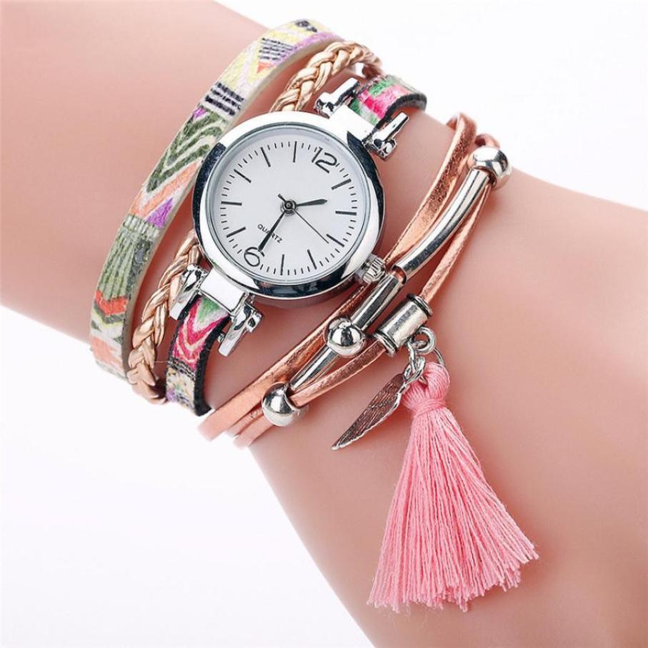 Beste verkoop 2018 Fashion hoge kwaliteit rosefield horloge Mode - Dameshorloges
