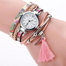 Mejor venta 2018 moda alta calidad reloj rosefield Moda mujer niñas reloj de pulsera de cuarzo analógico Ladies Dress pulsera relojes
