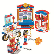 10616 192pcs DC Super Hero Wonder Woman Dorm Girls Bela Building Block Compatible 41235 Brick Toy(China)