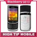 Оригинальный Разблокирована BlackBerry Torch 9810 мобильный телефон Восстановленное 3 Г телефон 8 Г ROM Камера 5.0MP Восстановленное Бесплатная доставка