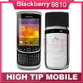 Original Unlocked BlackBerry Torch 9810 mobile phone  Refurbished 3G phone 8G ROM Camera 5.0MP Refurbished Free shipping