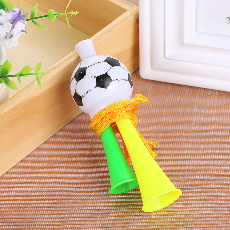 Plastic Trumpet Toys Three Tone Cheering Supplies Football Horn Kids Game Hooter Bugle Toy The Best Christmas Birthday kid Gift