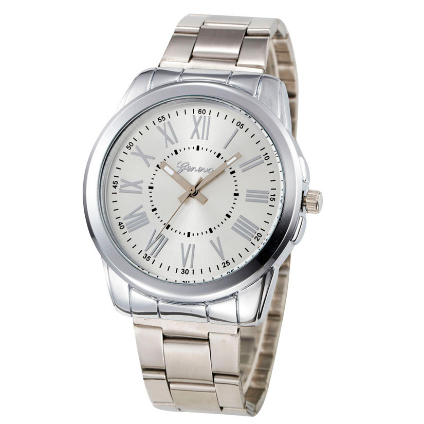 New Luxury Women Watches Stainless Steel Analog Quartz Watch Ladies Wrist Watches Clock Relogio Feminino #20 Wholesale new arrival fashion women watches analog quartz rhinestone crystal stainless steel wrist watch relogio feminino