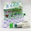 12 банок купирования терапия, магнитотерапия пузыря добычи кубок пинг тип банку вручную T398 Cupping apparatus