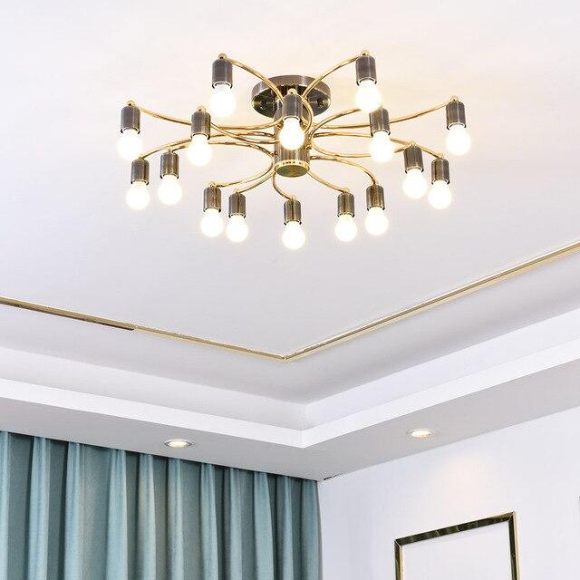 La vida moderna habitación colgante luces LED de techo lámpara comedor  lámparas decoración interior iluminación Lamparas