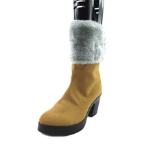 цена на Brdwn Final fantasy 13 Womens Oerba Dia Vanille Cosplay Custom Shoes Short Boots