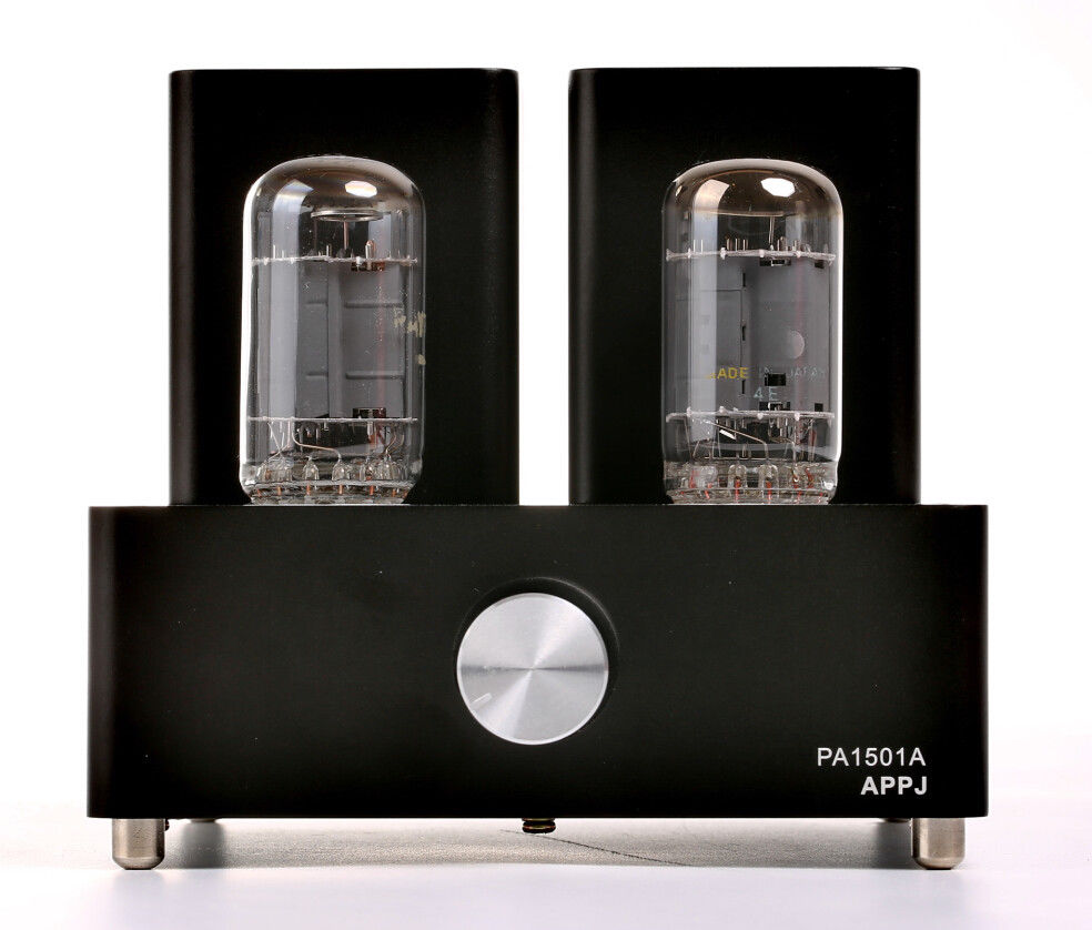 APPJ PA1501A 6AD10 Vacuum Tube Amplifier Audio Hifi Mini Desktop Power Amp Black 2016 brand new appj pa1601a 6j1 6p4 hifi wifi vacuum tube amplifier desktop digital audio tube amp hi fi lossless music player