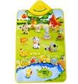 Детские игрушки музыкальный звук забавные фермы животные Дети Детский игровой коврик музыкальный ковер детский игровой мат игрушка 40*60 см