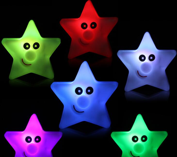 Creative Gift led Seven-color Star Night Light Home Decoration Kids Room LampCreative Gift led Seven-color Star Night Light Home Decoration Kids Room Lamp