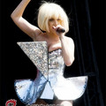 Estrella del Pop Cantante Disfraz Paillette Remache de una sola pieza de Música Traje desgaste de la Etapa