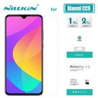 Xiao mi mi cc9 유리 nillkin h + pro 2.5d xiao mi mi cc9 cc9e nilkin glass 용 초박형 0.2mm cc9 강화 유리 스크린 보호기