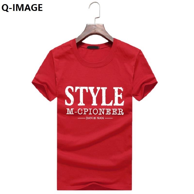 2017 New Letter Print T Shirt Mens Black And White Comic Con Cosplay T-shirts Summer Skateboard Tee Boy Skate Tshirt Tops