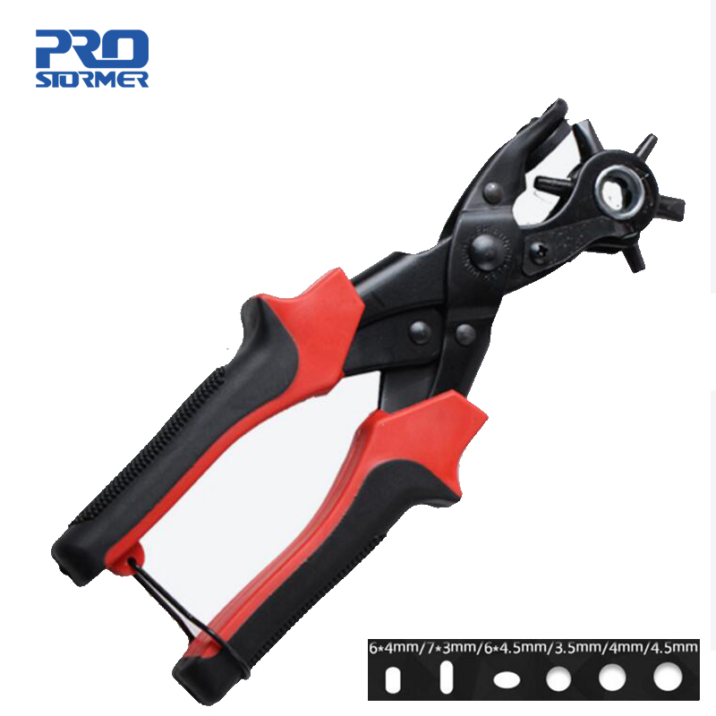 Prostormer Belt punch Strap Leather Hole Punch Hand Plier Multi-function Drill Hole Tool Belt Drill Punching MachineProstormer Belt punch Strap Leather Hole Punch Hand Plier Multi-function Drill Hole Tool Belt Drill Punching Machine
