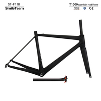 T1000 Super Light Road Full Carbon Bicycle Frame High Quality Chinese Carbon Bike Frameset With Quickly