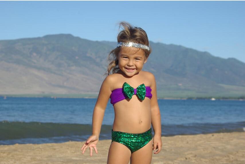 Costumi Da Bagno Per Bambini : ᗛbei bambini bikini alla moda costumi da bagno senza spalline