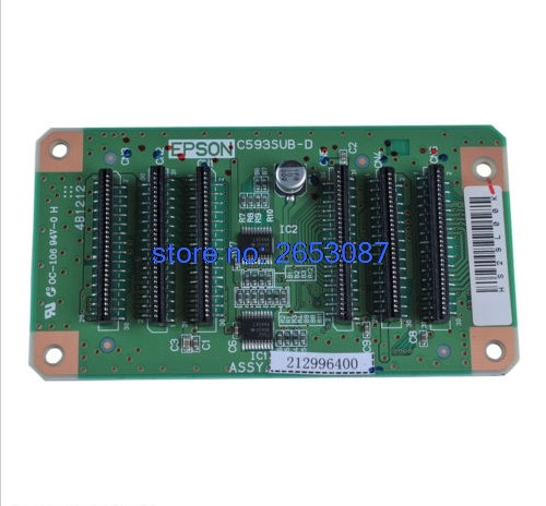Free shipping New and original Junction Board for Epson Stylus Pro 4880 4400 4000 4800 (C593-SUB-D Board) купить