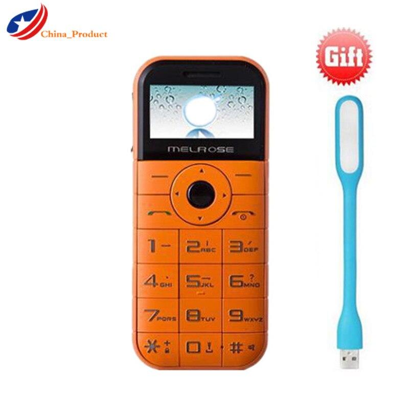 """Melrose C1 2500 mah als Energien-bank Lange Standby-1,7 """"Mini Handy Mit Taschenlampe MP3 Und Russische Tastatur robuste Handys"""