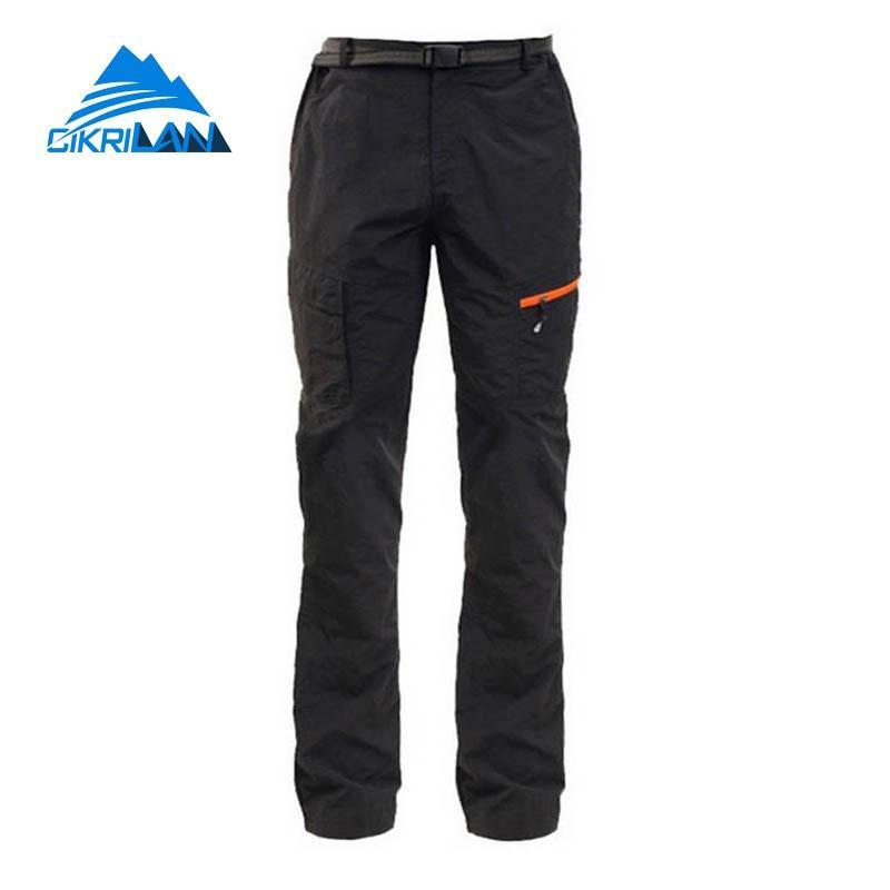 Mens Sports Hiking Cycling Climbing Trousers Quick Dry Sun Protection Outdoor Pants Men Climb Trekking Camping Pantalones Hombre