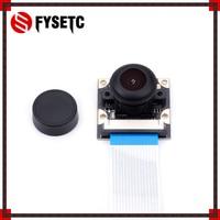 Raspberry Pi 3B 5MP Megapixel Night Vision Camera OV5647 Sensor Fisheye Wide Angle Camera Module For