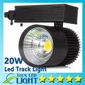 Cob Led faixa de luz 20 W local de poupança de energia lâmpada de parede de rastreamento AC 85 - 265 V iluminação Soptlight Epacket frete grátis