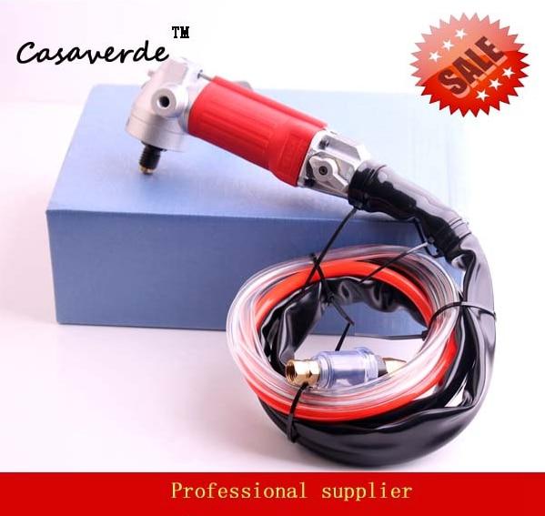 Бесплатная доставка M14 шлифовальная машина для заднего выхлопного воздуха с арборой и DC ELA02 для полировки камня или бетонной столешницы