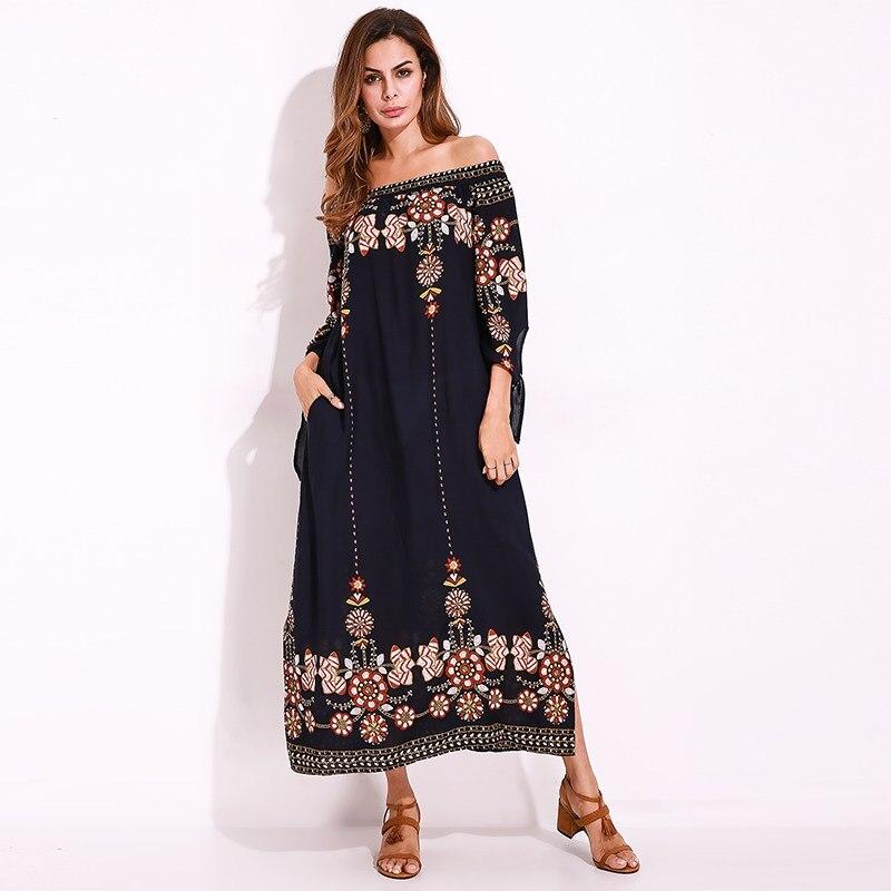 Womens Retro Polka Mini Shift Dress Ladies Summer Beach Long Tops Plus Size UK