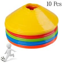 Marker-Discs Sports-Accessories Soccer Football Entertainment Cones Training 10pcs