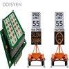 12v Dc Led Traffic Speed Warning Lights Radar Speed Sensor