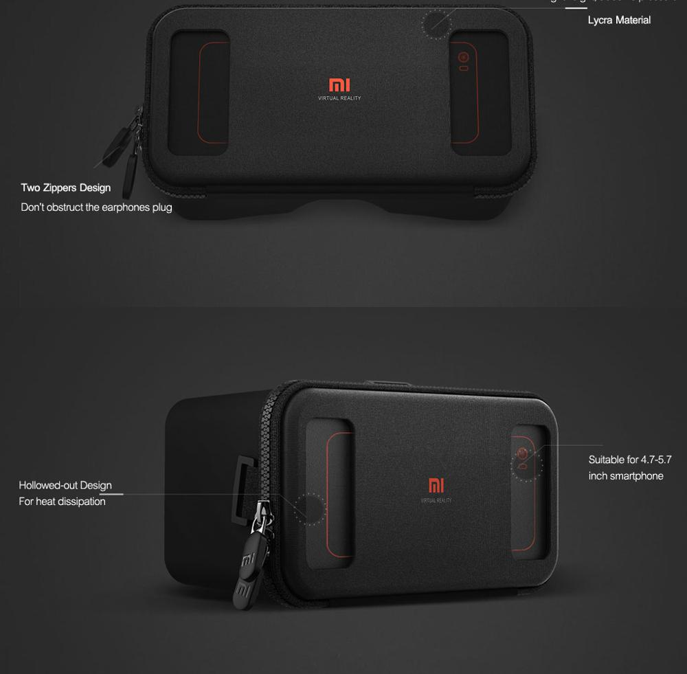 Original Xiaomi 3D VR Box Virtual Reality 3D Glasses Cardboard Immersive For 4.7-5.7 Inches Smartphones (8)