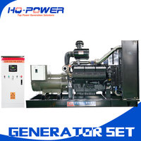 high quality 450 kw three phrase diesel generator 600hp engine