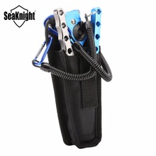 SeaKnight SK001 Multifunctional Aluminium Fishing Pliers +Folding Fishing Grip Stainless Steel Fish Controller Fishing Tool Set