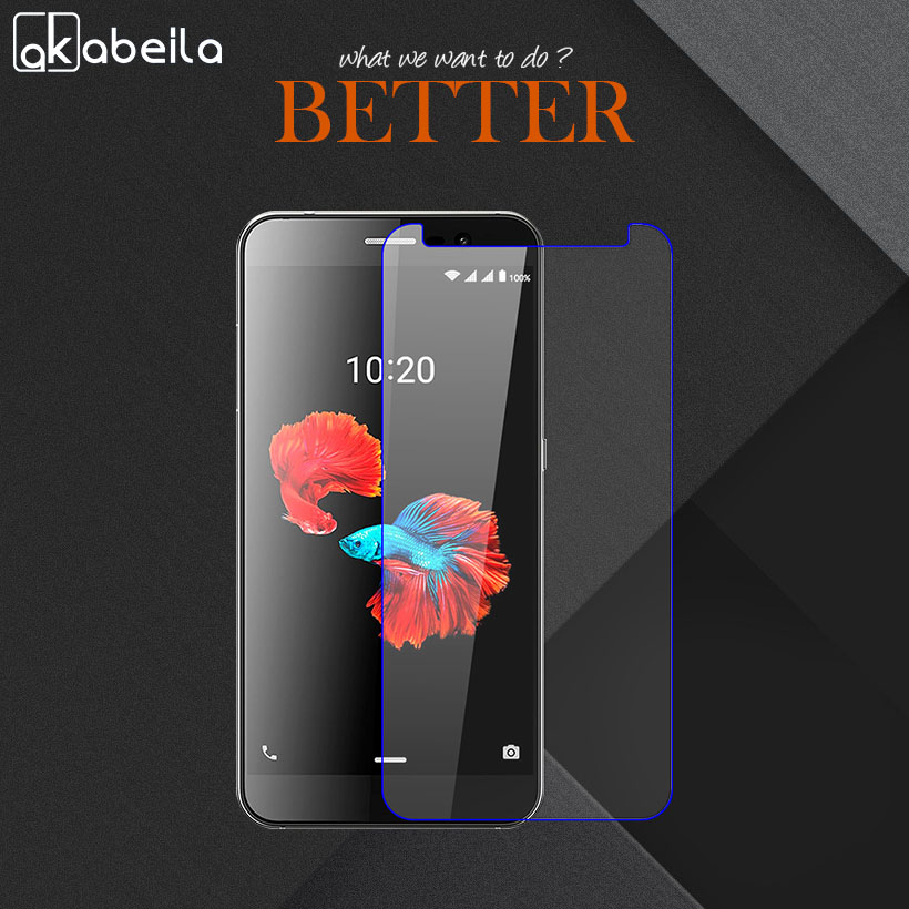 AKABEILA Wholesale Phone Tempered Glass For ZTE Blade A910 A 910 BA910 BA910t 5.5 inch Screen Protective Temperli Cam Steel