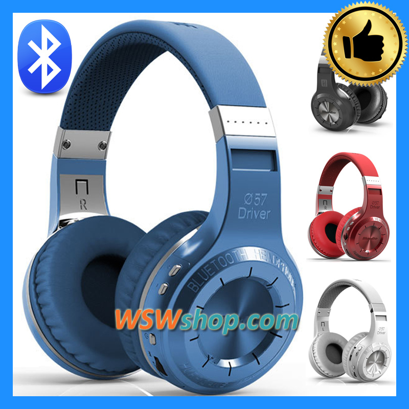 ФОТО 100% Factory Direct Blue dio HT Bludio Wireless Bluetooth Head 41 Stereo Headphone With Mic Hands  Call Music