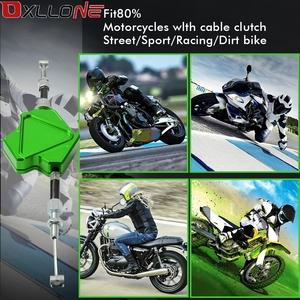 Image 5 - Moto universelle CNC aluminium moto facile à tirer levier dembrayage système pour Kawasaki NINJA 300 400 250R 400R 650R ER6F ER6N