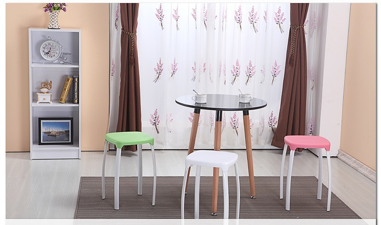 Living room stool Dressing table red stool bathroom yellow color free shipping free shipping dining stool bathroom chair wrought iron seat soft pu cushion living room furniture