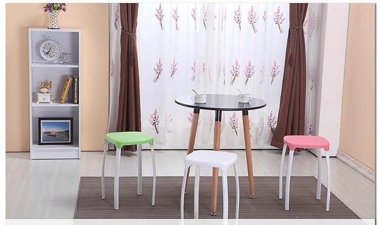 цена на Living room stool Dressing table red stool bathroom yellow color free shipping