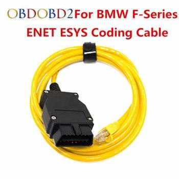 E-Sys Icom para Bmw Enet Ethernet a Obd Cable de interfaz de Serie F Cable  de diagnóstico