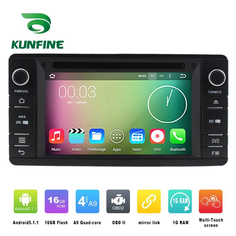 Quad Core 1024 600 Android 5 1 Car DVD font b GPS b font Navigation Player